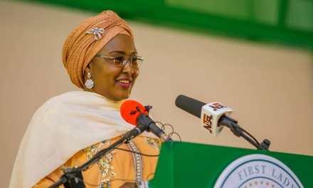 Aisha Buhari Reacts To Biodun Fatoyinbo's Rape Case