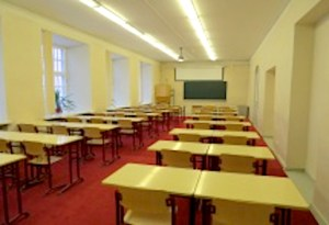 2. red lecture room