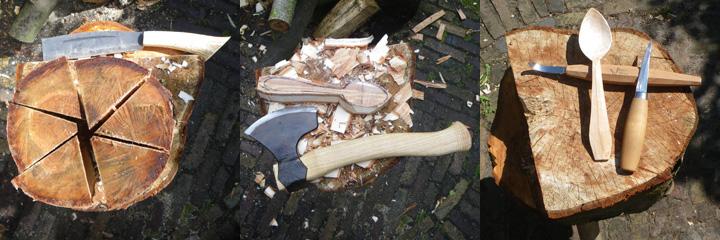 hout in mei
