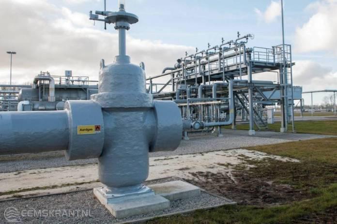 Gaswinning Groningenveld verder afgebouwd