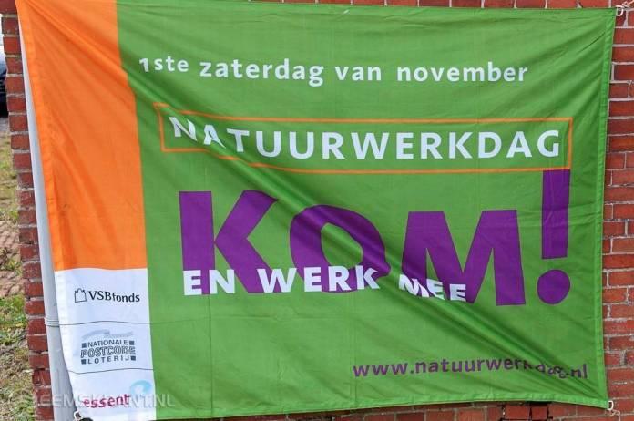 Scouting Delfzijl startlocatie Natuurwerkdag Groningen