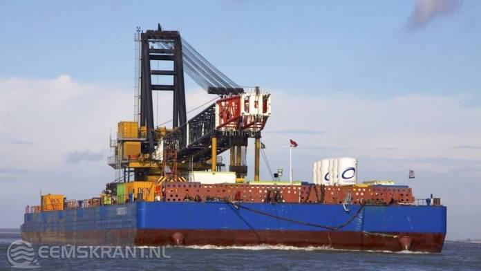 Terugkeer Voorwaarts Voorwaarts naar de Eemshaven minimaal met een dag vertraagt