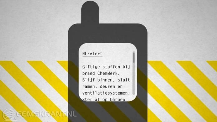 Groningers informeren elkaar tijdens een noodsituatie: Maandag 4 juni NL-Alert controlebericht