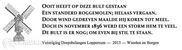 Bankje_Loppersum_Gravure
