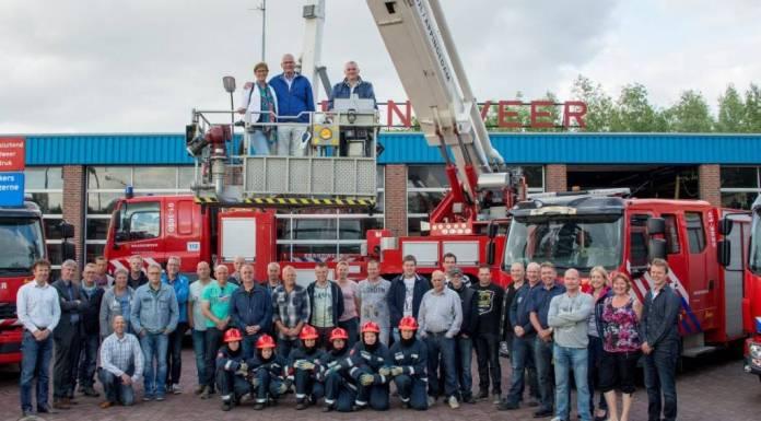 fb29173e1e1da8 Brandweer Delfzijl neemt afscheid van burgemeester Emme Groot