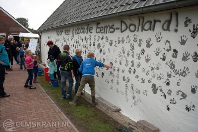 Groninger Landschap overhandigt Dollardslibhandtekeningen voor gezonde Dollard