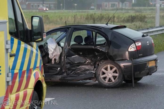 (Update) Gewonde bij verkeersongeval op de N33 ter hoogte van Spijk