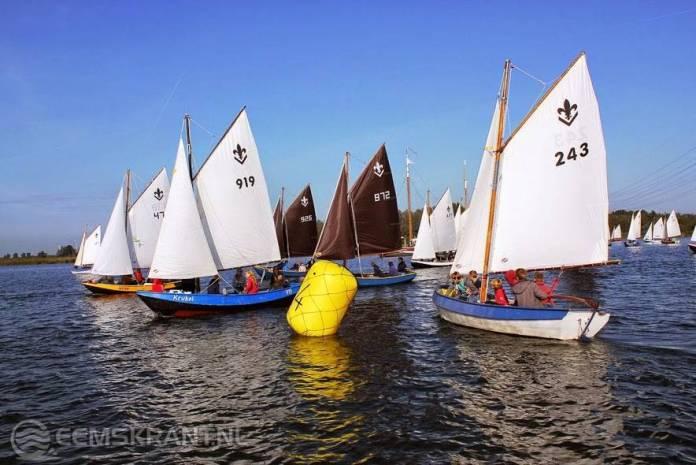 Waterscouts Fivelgroep namen deel aan landelijke zeilwedstrijden