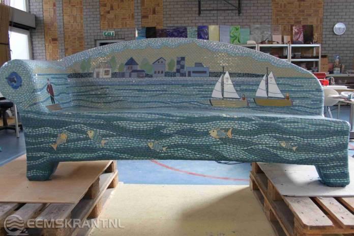 Dorpen waddenkust krijgen verhalenbanken met mozaïek