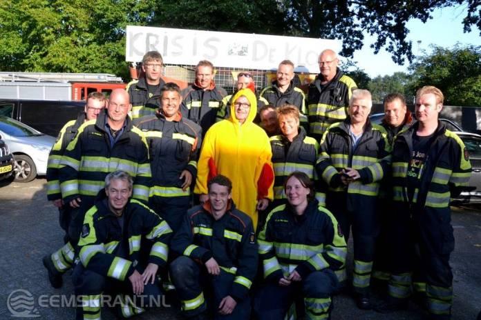 Siddebuurster brandweerman Kris de Haan ziet abraham