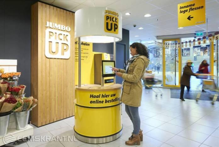 Jumbo Appingedam opent pick-up point voor online bestellingen
