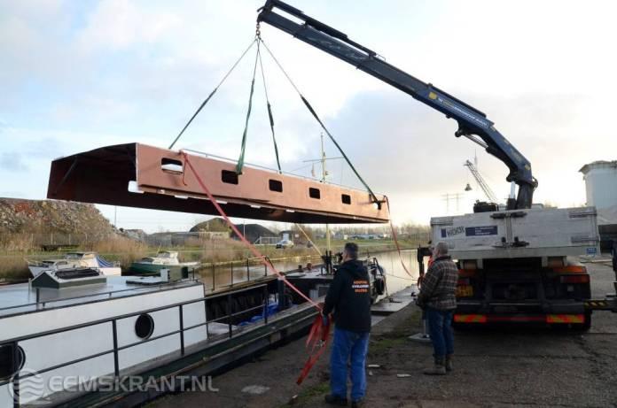 Schip scouting Delfzijl heeft nieuwe opbouw gekregen