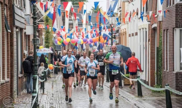 Winnaar marathon Londen en Amsterdam aan de start van Stadsloop Appingedam