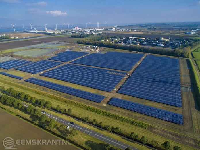 Grootste zonnepark van Nederland bij Delfzijl wordt volgende week geopend