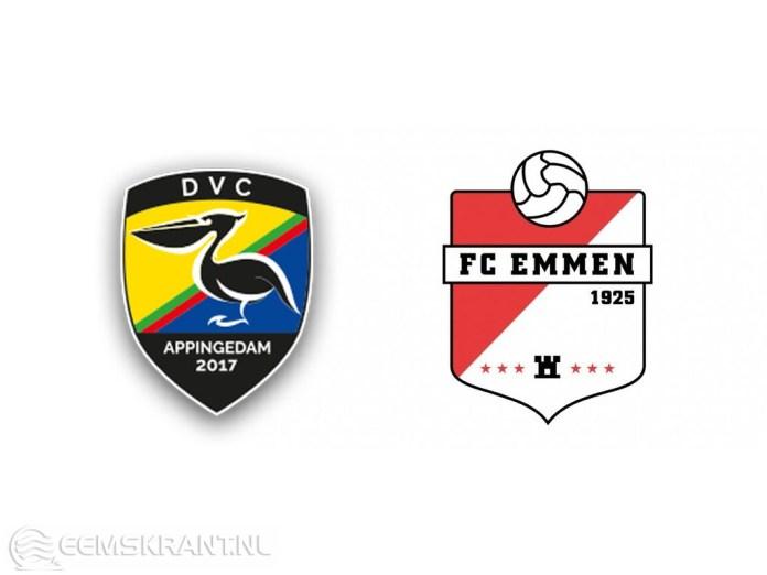 DVC Appingedam start voetbalfusiefeestweek met wedstrijd tegen FC Emmen