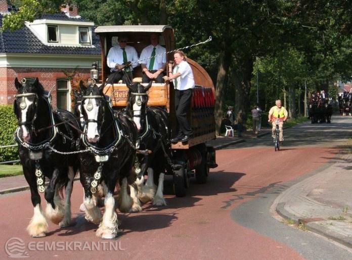 Historische koetsentocht door omgeving Slochteren op zaterdag 1 september