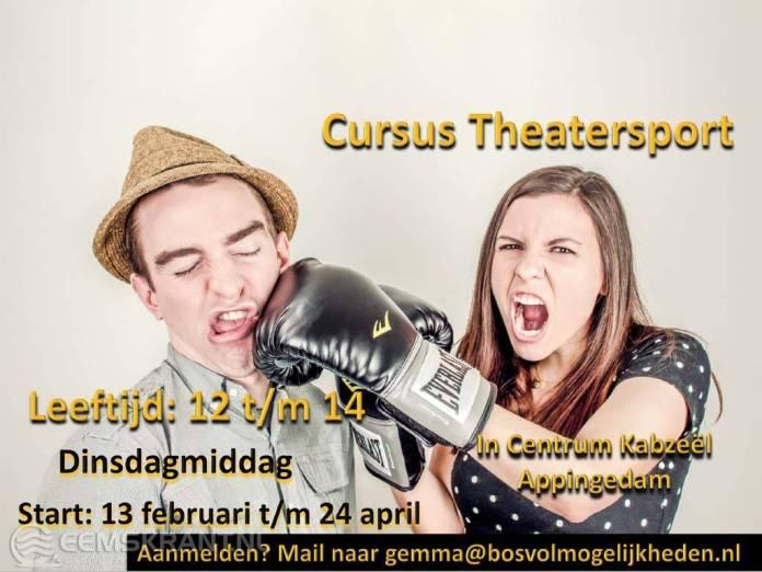 IVAK gaat los met Theatersport voor jongeren in Centrum Kabzeël