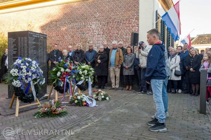 Dodenherdenking: Appingedam staat stil bij oorlogsslachtoffers