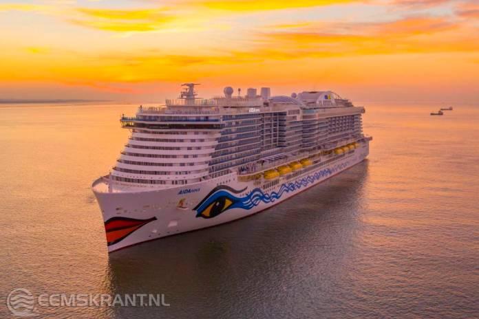 Oplevering cruiseschip AidaNova voor onbepaalde tijd uitgesteld