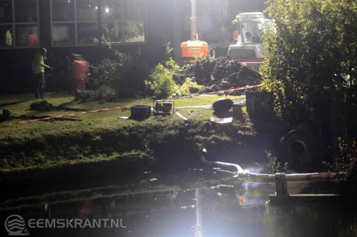 Update : Werkzaamheden aan aardgascondensaat lekkende rioolbuis in Farmsum