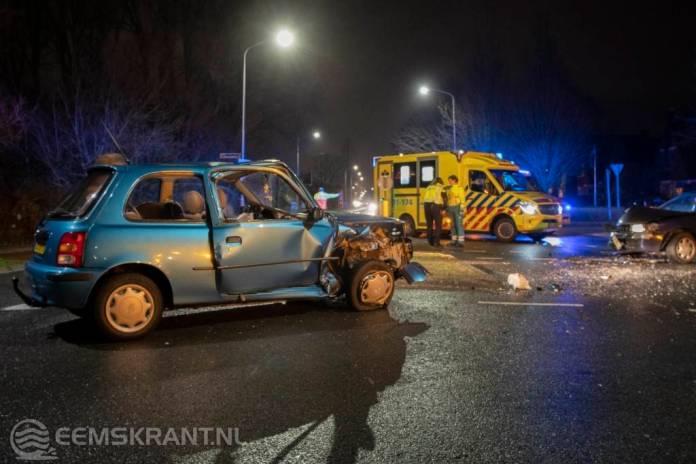 Drie gewonden bij verkeersongeval in Appingedam