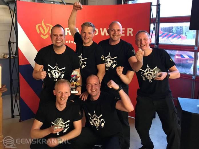 Brandweer Loppersum wint bij wedstrijden in Winschoten