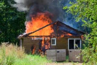 Brand vakantiehuisje Termunterzijl(28)