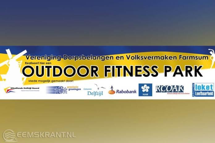 Informatiebijeenkomst Outdoor fitnesspark Farmsum