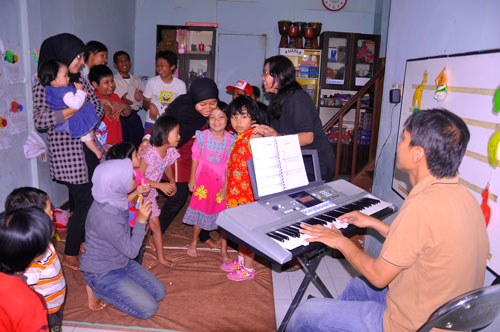 Inclusive music activities