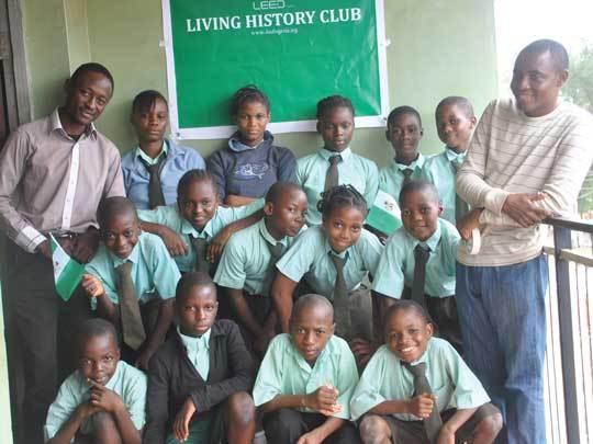 Members of a Living History Club