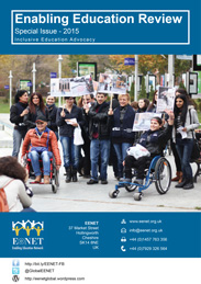 EER special edition on advocacy cover