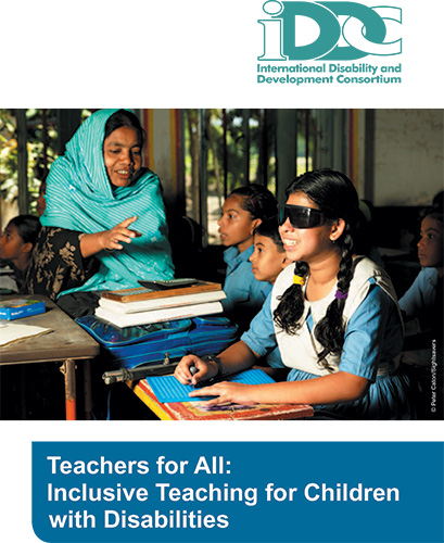 Teachers for All: Inclusive teaching for children with disabilities