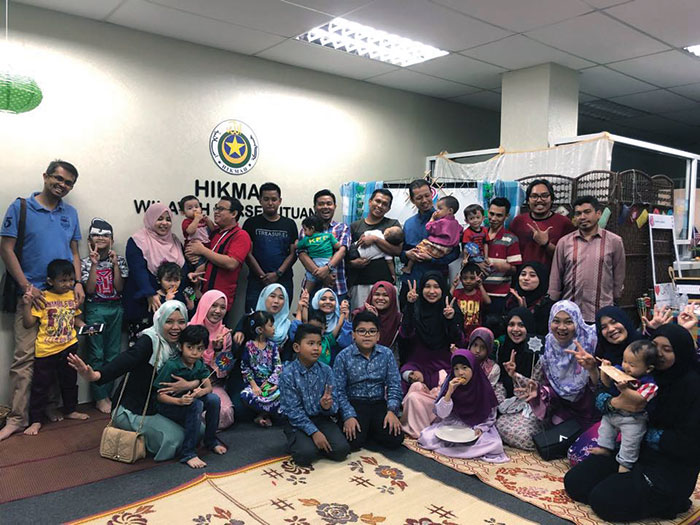 Parents and children in Malaysia