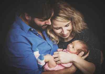 Babyportret (met ouders)