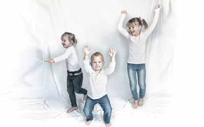 Kinderfotografie thuis