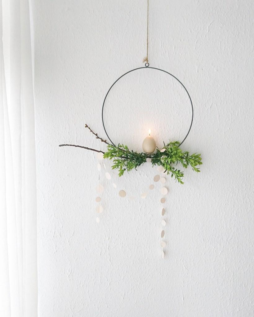 diy eenvoudige paasdecoratie zelf maken