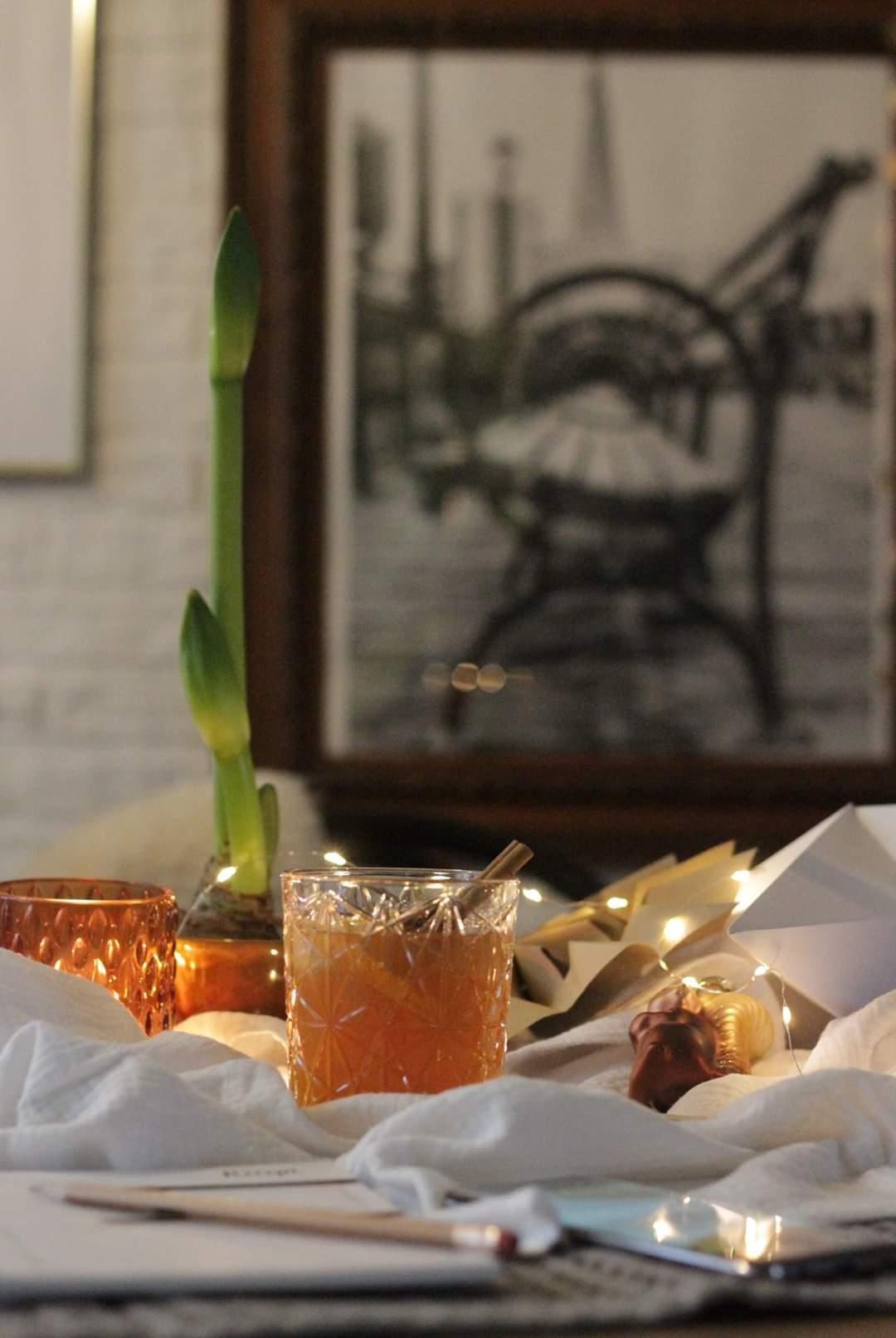 cocktail met thee en whisky