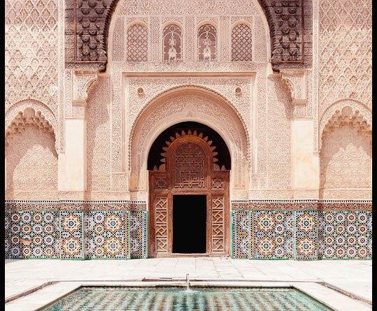 poster marrakech architectuur