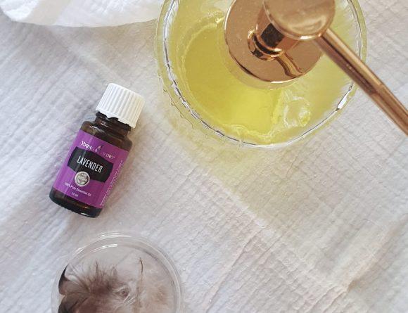 oliereiniger met lavendel
