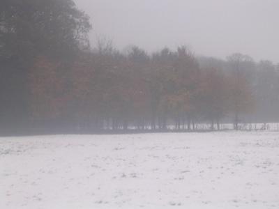 En dan is er sneeuw!