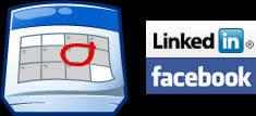 genda LinkedIn Facebook Events