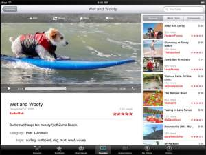 YouTube for iPad
