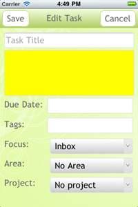Get It Done app eigenschappen taak