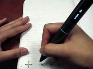 Livescribe smartpen - dot paper record