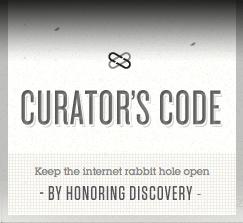 The Curator's Code logo