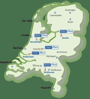 meereffect: trainingslocaties Nederland