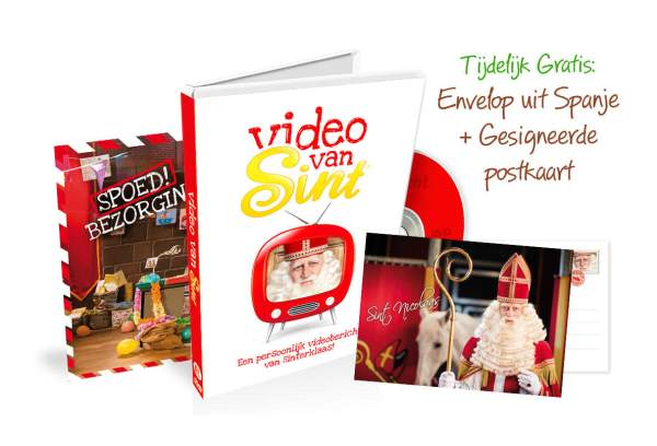Video van Sint Packshot
