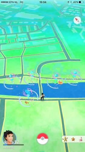 Eemplein in Amersfoort - Pokémon Go