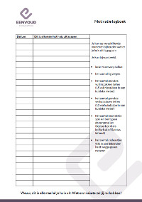 motivatielogboek lijst uit huis gehaalde spullen -25