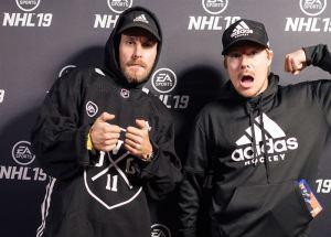 EA SPORTS™ mallinsi JVG:n hahmoiksi NHL™ 19 -peliin – Team JVG:n